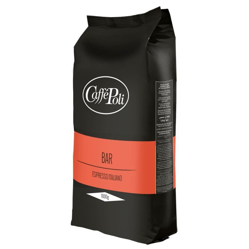 Кофе в зёрнах Caffe Poli Bar, 1 кг