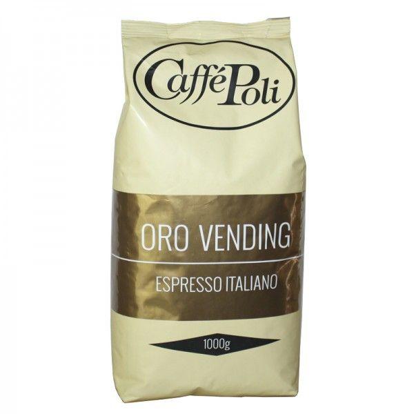Кофе в зёрнах Caffe Poli Oro Vending, 1кг