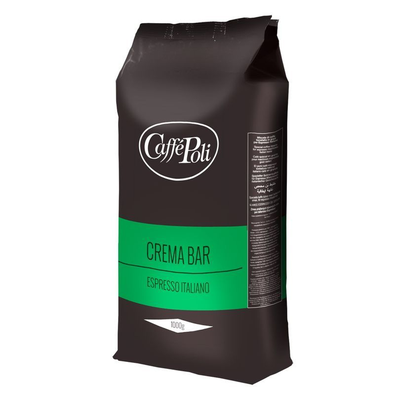 Кофе в зёрнах Caffe Poli Crema Bar, 1 кг