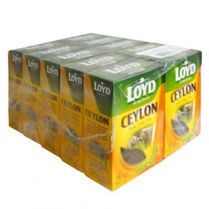 Чай листовой Loyd Ceylon, Orange Pekoe, 80 г, 10 уп.