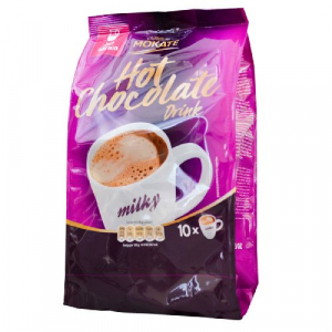 Молочный Шоколад с магнием Mokate Caffetteria Milk Chocolate, 18г*10шт